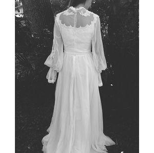 *Vintage Alfred Angilo Wedding Gown Edythe Vincent